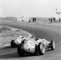Phil Hill in his Ferrari Dino 246, 1959.