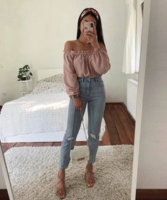 new style clothes Cute Casual Outfits, Girly Outfits, Cute Summer Outfits, Stylish Outfits, Spring Outfits, Teen Fashion Outfits, Outfits For Teens, Fashion Fashion, Mode Bcbg