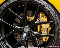 @rollofaceusa custom brake kits now available at #vividracing . Check those #Vorsteiner wheels too! Shop everything at www.vividracing.com