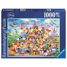 Puzzle 1000 pièces : Le carnaval de Disney - Ravensburger-19383