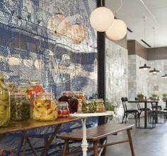 Dining Table, Restaurant, Interior, Jerusalem, Furniture, Home Decor, Dining Room Table, Decoration Home, Room Decor