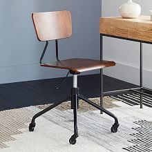 $199 west elm Home Office Swivel Chairs and Desk Chairs   west elm