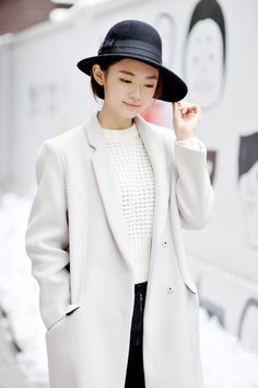 Fashion - Street Style - Streetper.co - 유혜진 , 가로수길의 겨울패션[스트리트패션] :: 네이버 블로그