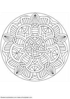Coloring page mandala-1602j