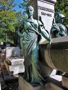 Grave Monuments, Garden Sculpture, Greek, Statue, Paris, Outdoor Decor, France, Blog, Photos