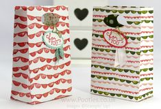 Pootles' SpringWatch Way Back Wednesday Fold Flat Party Bag Tutorial Happy Wednesday everyone! Way Back Wednesday! I loved the responses I've been getting over the past few weeks about this new wee...