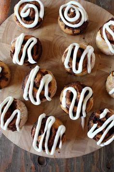 No Yeast Cinnamon Rolls. half cup of milk is enough for the dough. for the frosting: beat the cheese very well then gradually add sugar. the last step is adding the milk gradually