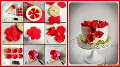 Fondant Blume