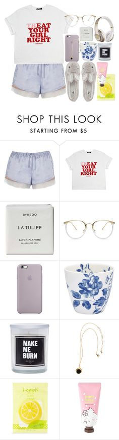 """lonely night"" by darling-ange1 ❤ liked on Polyvore featuring River Island, Byredo, GreenGate, H&M, Forever 21 and Beats by Dr. Dre"