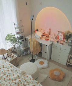 Room Design Bedroom, Room Ideas Bedroom, Bedroom Decor, Bedroom Inspo, Cute Room Ideas, Cute Room Decor, Room Ideias, Deco Studio, Study Room Decor