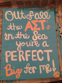 AST Craft for the little #AST #AlphaSigmaTau
