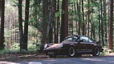 The Porsche Beyond the Pines / 1986 Porsche 911 Carrera 3.2 / Created by Jason Battersby