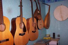 https://flic.kr/p/8UA63V | My Wall of Musical Instruments