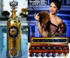 Dartz's €1 million Russo-Baltique Vodka and caviar