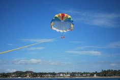 Come fly high.....an awesome day to be out parasailing with Adrenalin Fiji!