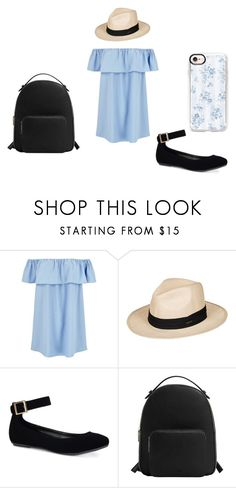 """Light Blue Outfit #3"" by allaboutgirls17 on Polyvore featuring Roxy, Bamboo, MANGO y Casetify"