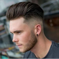 Fashionable Men's Haircuts : Hair and the beard looking might fine as fuk -Read More – Faux Hawk Hairstyles, Mens Hairstyles With Beard, Undercut Hairstyles, Hair And Beard Styles, Hairstyles Haircuts, Haircuts For Men, Hair Styles, Trending Mens Haircuts, Man Haircut 2017