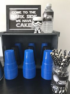 New birthday party cake table star wars ideas Dad Birthday Cakes, Birthday Gifts For Kids, Birthday Diy, Birthday Recipes, Birthday Nails, Happy Birthday, Birthday Ideas, Birthday Wishes, Birthday Table Decorations
