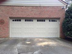 Double Car Carriage House Garage Door