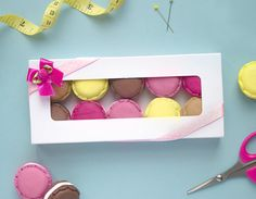 Set of 10 Handmade Polymer Clay Macaron Sewing by OhSewQuaint