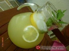 Great recipe for Amazing lemonade by Anna Maria Barouh. This is the most delicious lemonade I have ever tasted! Recipe by pinalaki Smoothie Drinks, Detox Drinks, Smoothies, Lemon Recipes, Sweet Recipes, Homemade Lemonade, Fruit Snacks, Recipe Images, Food Hacks