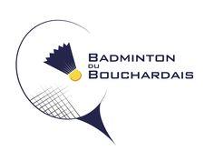 BADMINTON DU BOUCHARDAIS Création de logo pour le club sportif Badminton du Bouchardais.