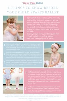 5 Things to know before your child starts ballet. #babyballet #preschoolballet #kinderballet #balletkids