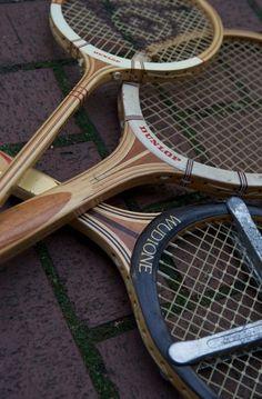 Vintage Tennis Racquet Racket Spalding Davis Cup Follow