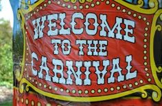 carnival / circus birthday party ideas