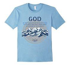 God Psalm 91 Gospel Biblical T-Shirt God Psalm 91 Shirt, http://www.amazon.com/dp/B07369NYL2/ref=cm_sw_r_pi_dp_x_VXKtzbQKD4ARF