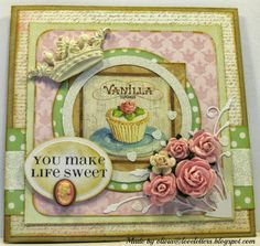 Olivias Loveletters: Pretty pastel kort