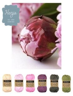 Color peony pink green Dit leuke garenpakket koop je op www. Yarn Color Combinations, Colour Schemes, Colour Pallette, Color Palate, Yarn Colors, Colours, Peony Colors, Design Seeds, Coordinating Colors