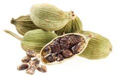 Cardamomo - uma especiaria oriental excelente para tratar problemas digestivos.