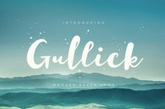 Gullick is modern brush font, every single letters have been carefully crafted to make your text looks beautiful. With modern brush style this font will perfect for many different project ex: quotes, blog header, poster, wedding, branding, logo, fashion, apparel, letter, invitation, stationery, etc. Gullick including alternates and multiple language support.