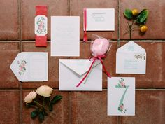 Shannon Leahy Events - Carnival Inspired Wedding - San Rafael - Invitations - Roses