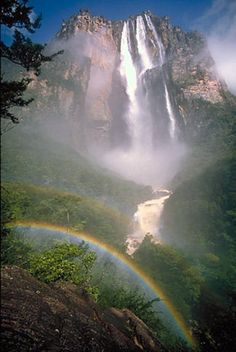 10 Must-See Destinations in South America: Angel Falls - Venezuela