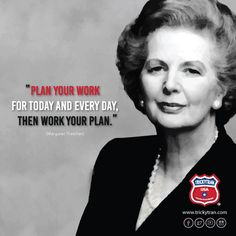 "Margaret Thatcher ""The Iron Lady"" #advice #inspiration"