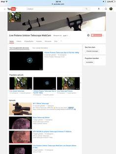 De mooiste telescoop op YouTube