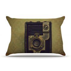 KESS InHouse EKC Jan 1910 by Robin Dickinson Featherweight Pillow Sham Size: