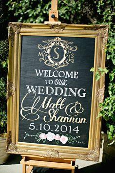 簡単にDIYできちゃうのも魅力♡チョークボード・黒板を使ったウェルカムボードまとめ一覧♪スタイリッシュな結婚式に参考にしてみてください♪