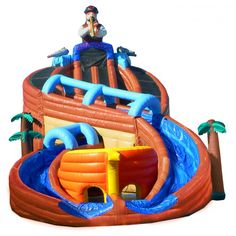 hot commercial use inflatable shipwreck a-b-c with pool, high quality pirate water slide for sale. My Pool, Swimming Pools Backyard, Kiddie Pool, Water Floaties, Blow Up Water Slide, Cool Pool Floats, Inflatable Water Park, Bouncy House, Water House