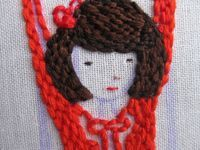great tutorial for filling in embroidery patterns using backstitch
