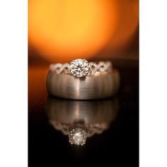 Cozy fire gorgeous ring and handsome wedding band. Rings are one of my favorite things to shoot!  #richmondwedding #virginiaweddings #weddingbands #handbkillianit #strousephoto #strousephotography