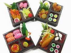 Japan Dolls House Miniature Japanese Food  -