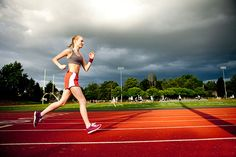 Torch Calories at the Track: Outdoor Interval Workout | SELF