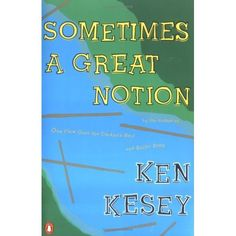 Sometimes a Great Notion Ken Kesey, Good Books, Books To Read, My Books, Penguin Classics, English Book, Bookshelves, Reading Lists, Recommended Reading