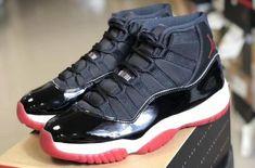 Air Jordan 11 Bred 2019 Release Date - Sneaker Bar Detroit Jordan Shoes Girls, Air Jordan Shoes, Girls Shoes, Shoes Women, Air Jordan 11 Bred, Air Jordan Xi, Jordan Low, Jordan 11 Red, Nike Air Jordans