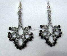 Beautiful crocheted earrings
