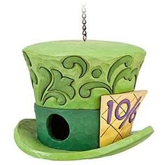 Alice in Wonderland Mad Hatter Birdhouse by Jim Shore | Disney Store