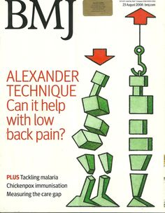 The BMJ published the ATEAM Trial results (2008) which showed a significant reduction in back pain in people who learned the Alexander Technique. It was fascinating teaching on that Research Trial!